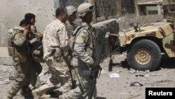 جنود عراقيون في بغداد