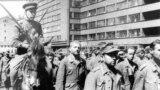 Пленные немцы в Москве, 1944 г.