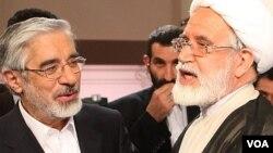 مقامات جمهوری اسلامی تاکنون دادگاهی برای میرحسین موسوی، زهرا رهنورد و مهدی کروبی برگزار نکردهاند.