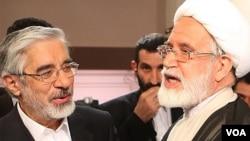 میرحسین موسوی، مهدی کروبی و زهرا رهنورد از بهمن ۸۹ تاکنون بدون محاکمه در حصر خانگی به سر میبرند