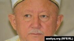 Верховный муфтий Казахстана Абсаттар хаджи Дербисали.
