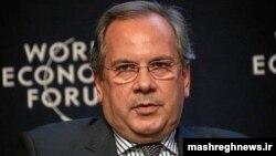محمود سریعالقلم در مجمع جهانی اقتصاد در داووس