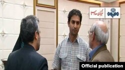 Video from Iranian TV shows Reza Dehbashi Kivi after his return from Australia.