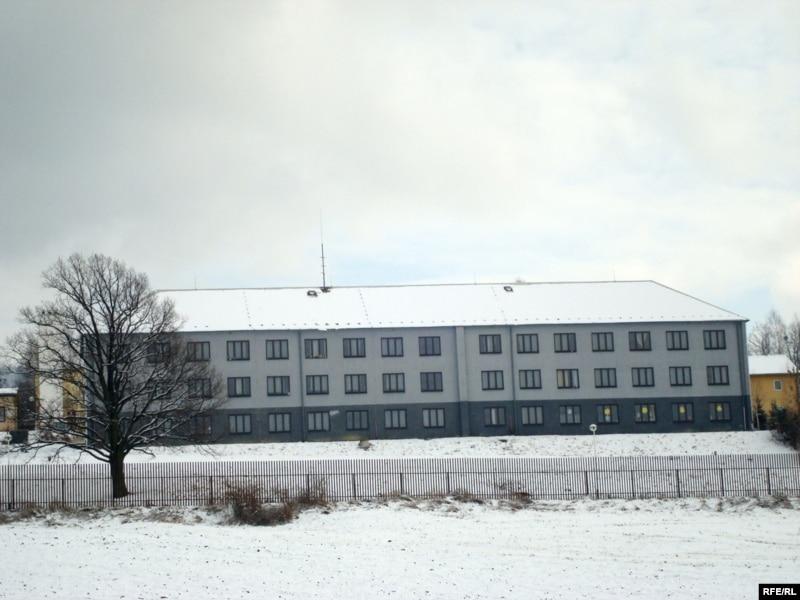 Лагерь для беженцев в чешской деревне Вышни Лхоты. 1 февраля 2009 года