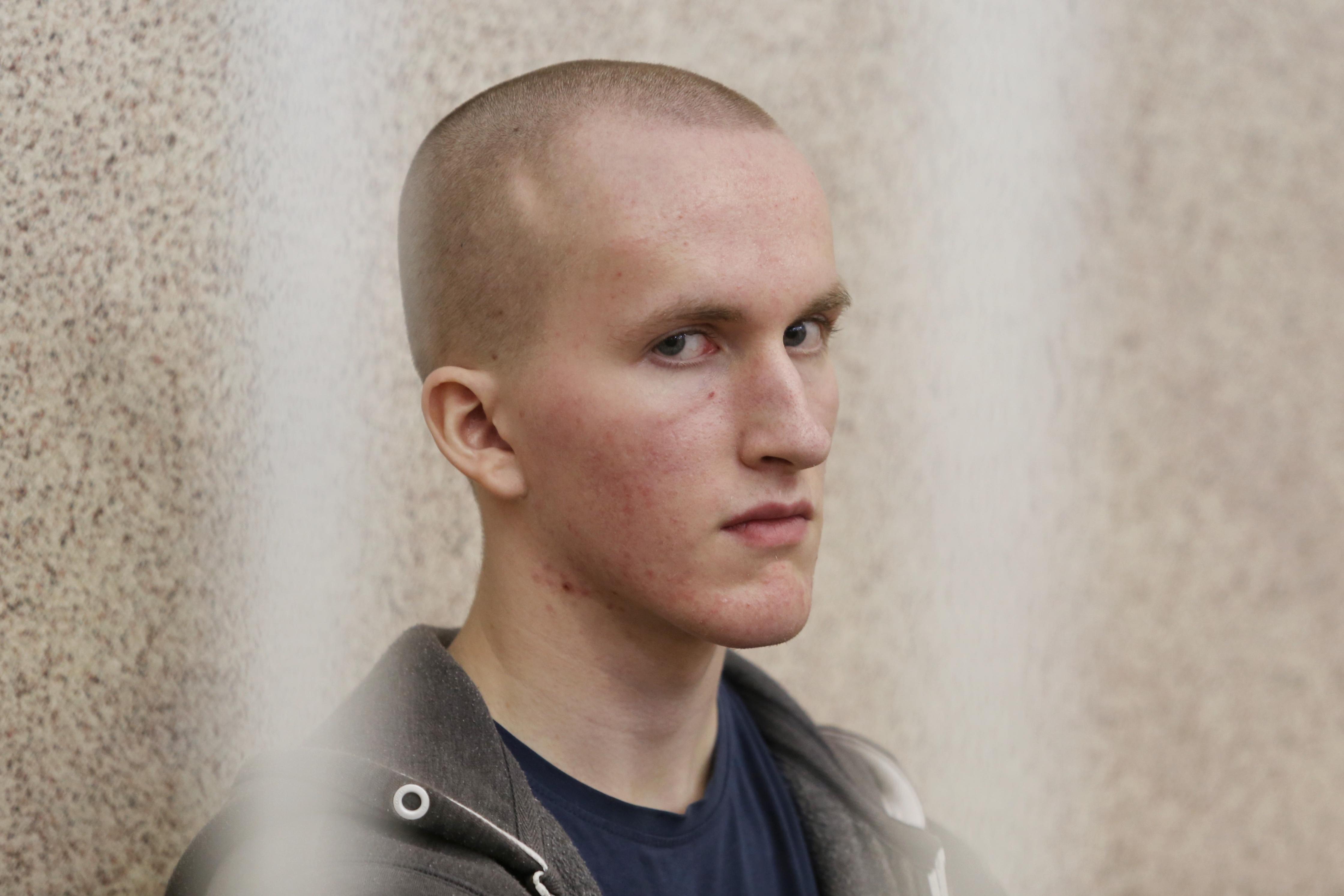 Судовы працэс над Уладам Казакевічам, які ўчыніў напад з бэнзапілой на гандлёвы цэнтар «Эўропа». Вынясеньне прысуду