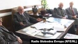 Прес-конференција на Сојузот на борци од Прилеп.