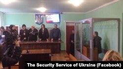 Оглашение приговора исполнителю теракта в Новоалексеевке, 31 января 2018 года