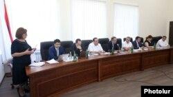 Заседание ВСС по вопросу прекращения полномочий Нахшун Таварацян, Ереван, 18 июля 2019 г․