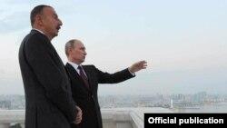 V. Putin və İ. Əliyev