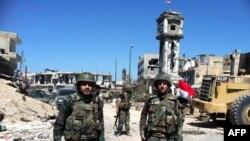 Урядові сили Сирії в місті Кусейр, 5 червня 2013 року