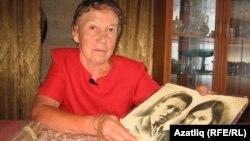 Гүзәлия Габдикова әти-әнисе сурәте белән