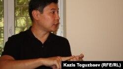 """Руслан Кожахмет, бывший сотрудник китайской """"Синоптек Казахстан""""."""