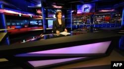 Özəl «Rustavi-2» telekanalının studiyası - 2012