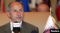 مصطفی عبدالجلیل، رئیس شورای انتقالی لیبی