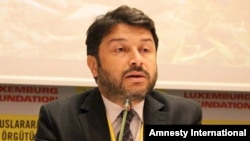 Taner Kilic, the head of Amnesty International in Turkey (file photo)