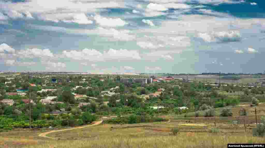Краєвид на Скворцове із західного боку