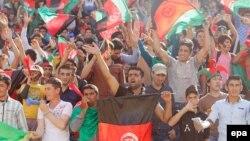 Афганські футбольні вболівальники, архівне фото