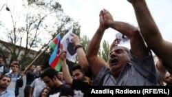 Митинг оппозиции в Баку. 11.09.2016