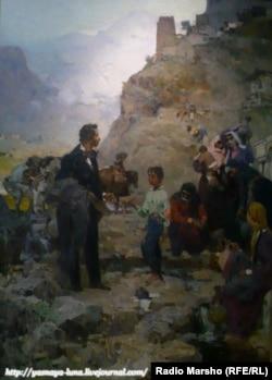 Пушкин Кавказехь, сурт диллинарг - Адвадзе В.И.,1957