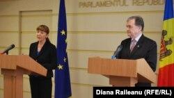 Monica Macovei şi Ion Hadârcă