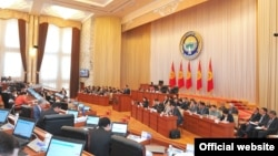 Парламент Кыргызстана. Иллюстративное фото.