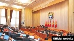 Жогорку Кенеш (парламент) Кыргызстана.
