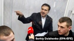 «Я не считаю себя задержанным, я считаю себя военнопленным, потому что они ведут войну против украинского народа», – заявил Михаил Саакашвили
