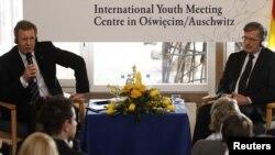 Президенты Польши и Германии на встече с молодежью