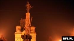 Cluj, statuia lui Avram Iancu