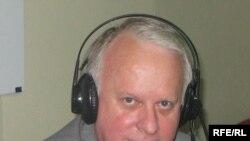 Пан Яцек Ключковский у студії Радіо Свобода