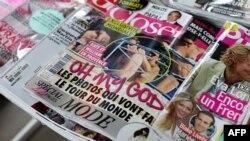 Номер журнала Closer, в котором опубликованы топлесс фотографии супруги британского принца