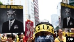 A recent protest in Malaysia.