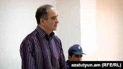Armenia - Businessman Ashot Sukiasian stands trial in Yerevan, May 2016.