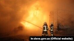 Вибух на автостоянці в Кропивницькому: травмовані 4 людини, знищені 18 автомобілів