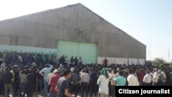 Iran - Haft Tapeh - Workers of Sugar Factory Continue their Strike.