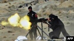 Pamje gjatë ushtrimeve të pjesëtarëve të policisë elite në Pakistan