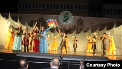 «Qarabağ» ansamblının çıxışı