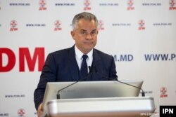 Moldovan politician and media tycoon Vlad Plahotniuc (file photo)