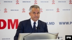 Moldovan politician and media tycoon Vladimir Plahotniuc (file photo)