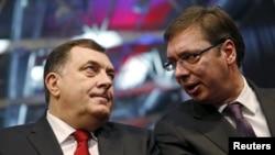 Milorad Dodik i Aleksandar Vučić