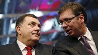 Milorad Dodik i Aleksandar Vučić već su razgovarali o referendumu