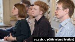 Студенты Европейского университета в Санкт-Петербурге