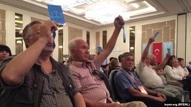 Президентом Всесвітнього конгресу кримських татар обрали Рефата Чубарова