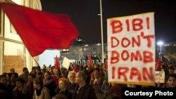عکس مربوط به تظاهراتی در ماه مارس در تل آویو است. activestills.org
