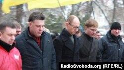 Мітинг опозиції в Ужгороді ледь не зірвали хурделиці