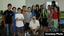 Школьники в Беер-Шеве, Израиль