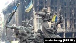 Kiyevdə «Maydan» meydanı