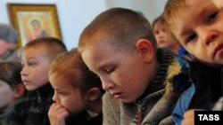 Orphaned children with disabilities in Russia's Ivanovo region