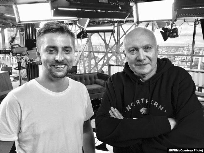 Серж Харытонаў і Матвей Ганапольскі