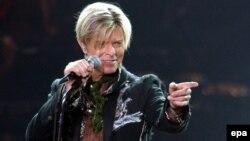 Këngëtari briatnik, David Bowie